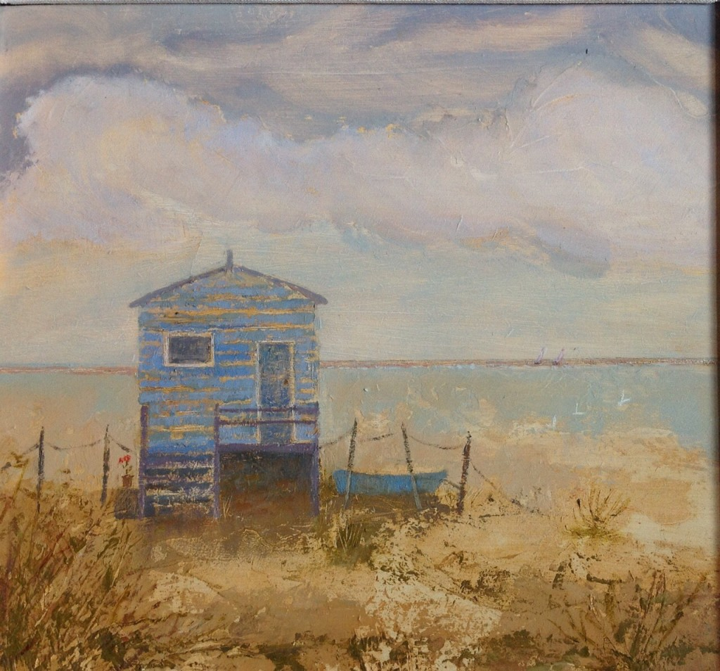 Winter Beach Hut