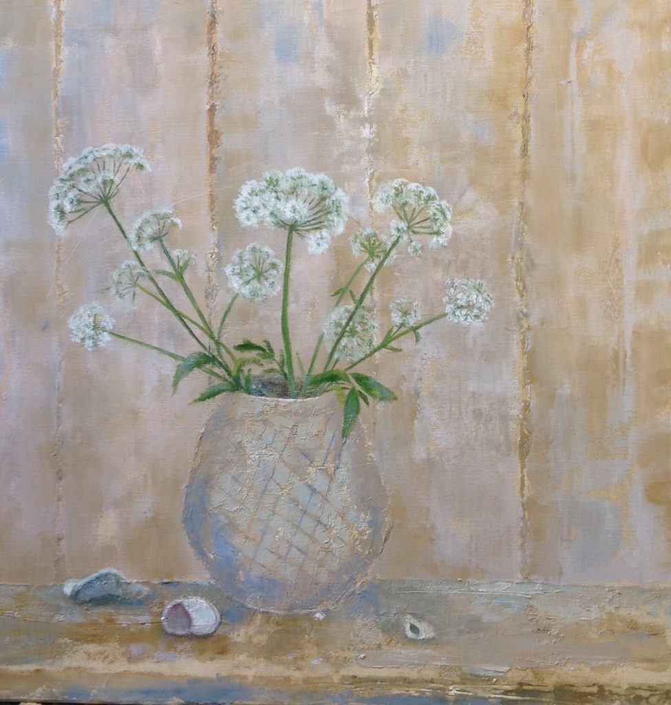 Cow parsley 16x16 inches